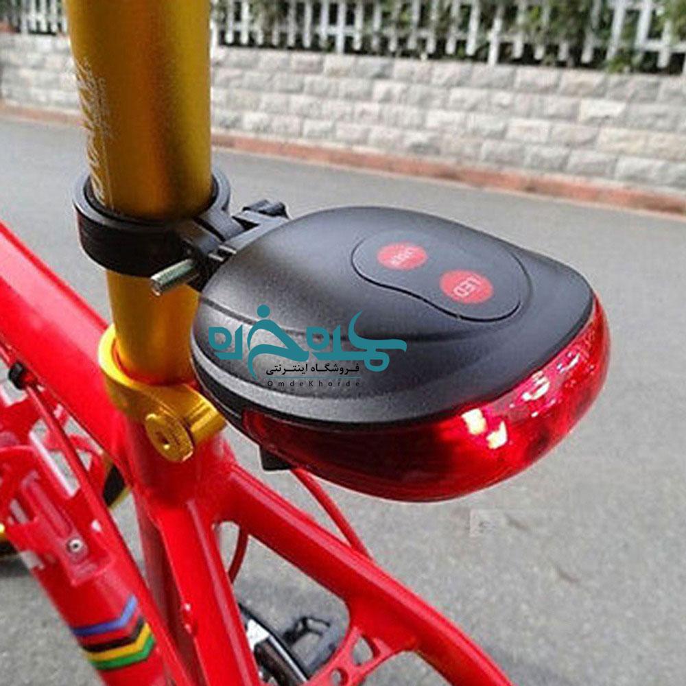 چراغ و لیزر عقب دوچرخه |